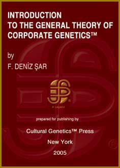 F. Deniz Sar: Introduction to the General Theory of Corporate Genetics (TM), Cultural Genetics Press (TM), New York, 2005.